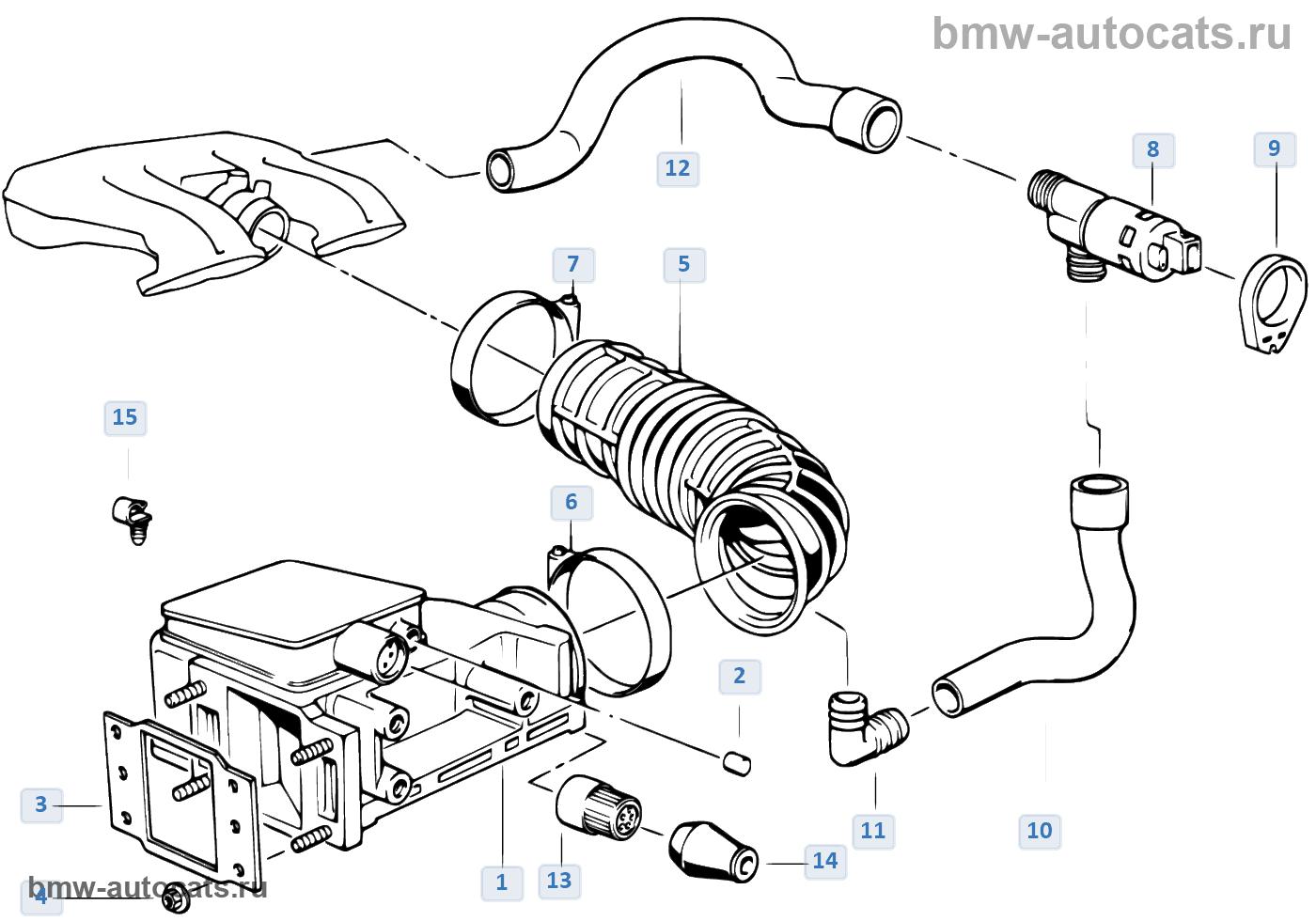 Клапан регулировки холостого хода для e36 m3 32(00071998) s50 мкпп левый