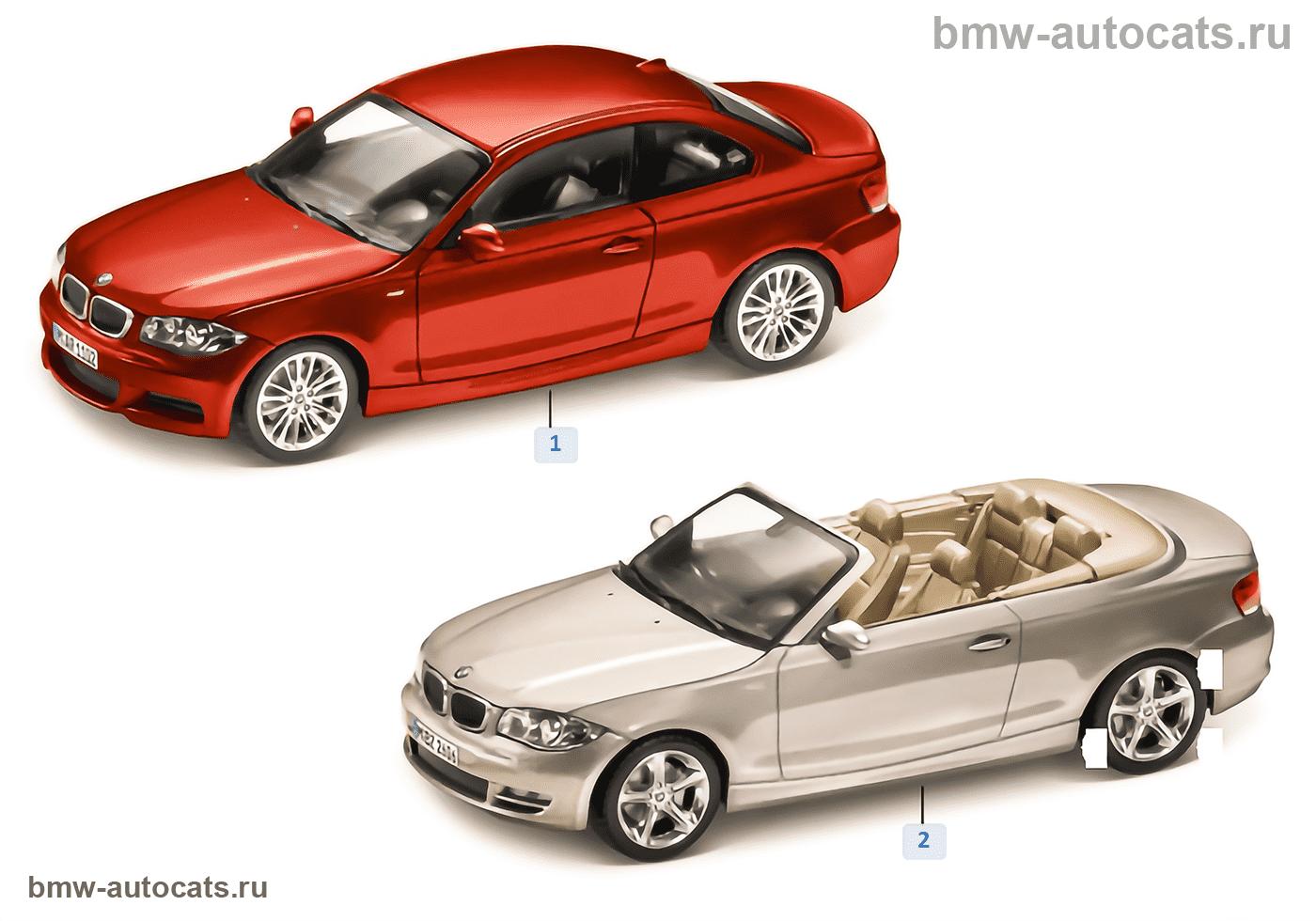 BMW Miniaturen — BMW 1er Serie 2010/11