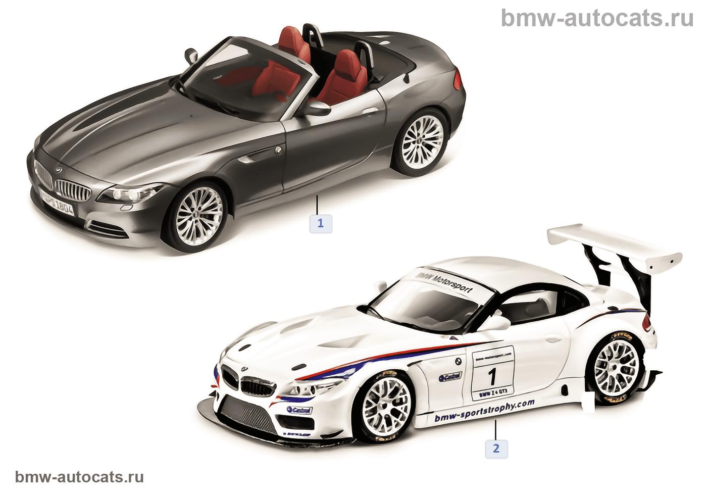 BMW Miniaturen — BMW Z4