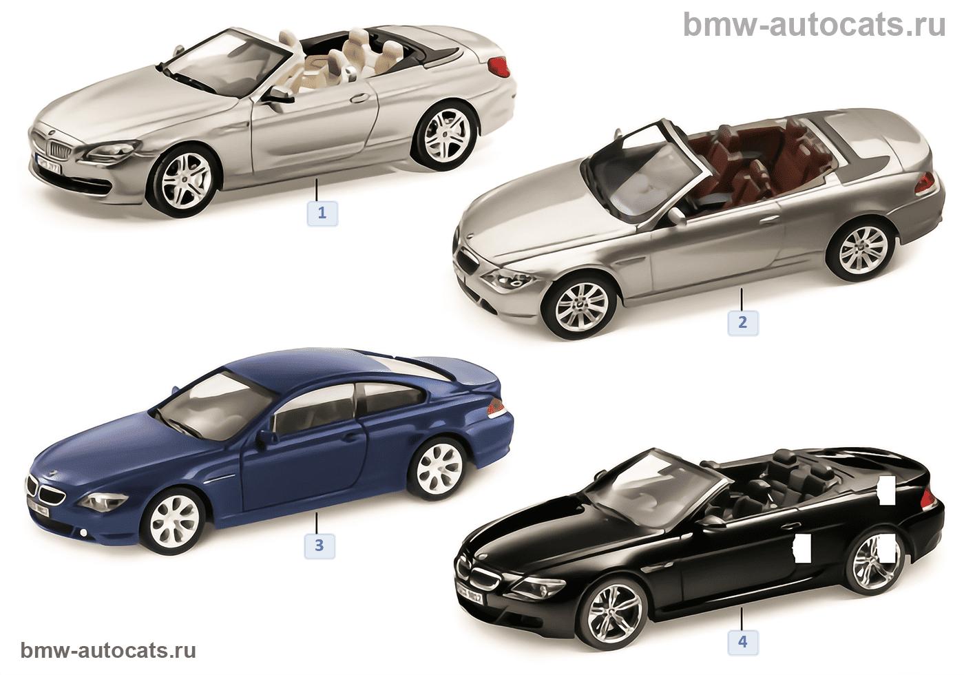 BMW Miniaturen — BMW 6er Reihe 2010/11