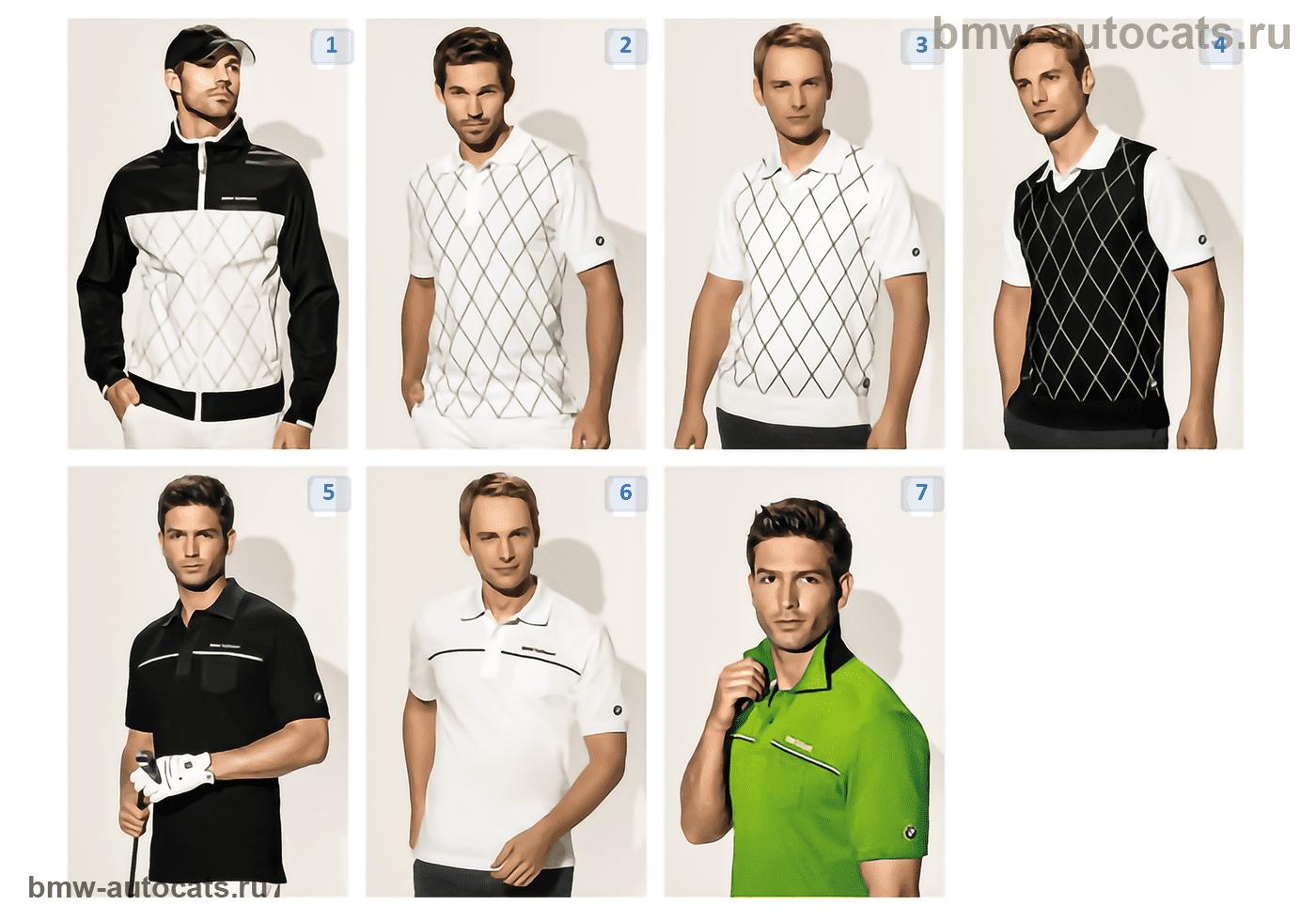 Golfsport — Herrentextilien 2010/11