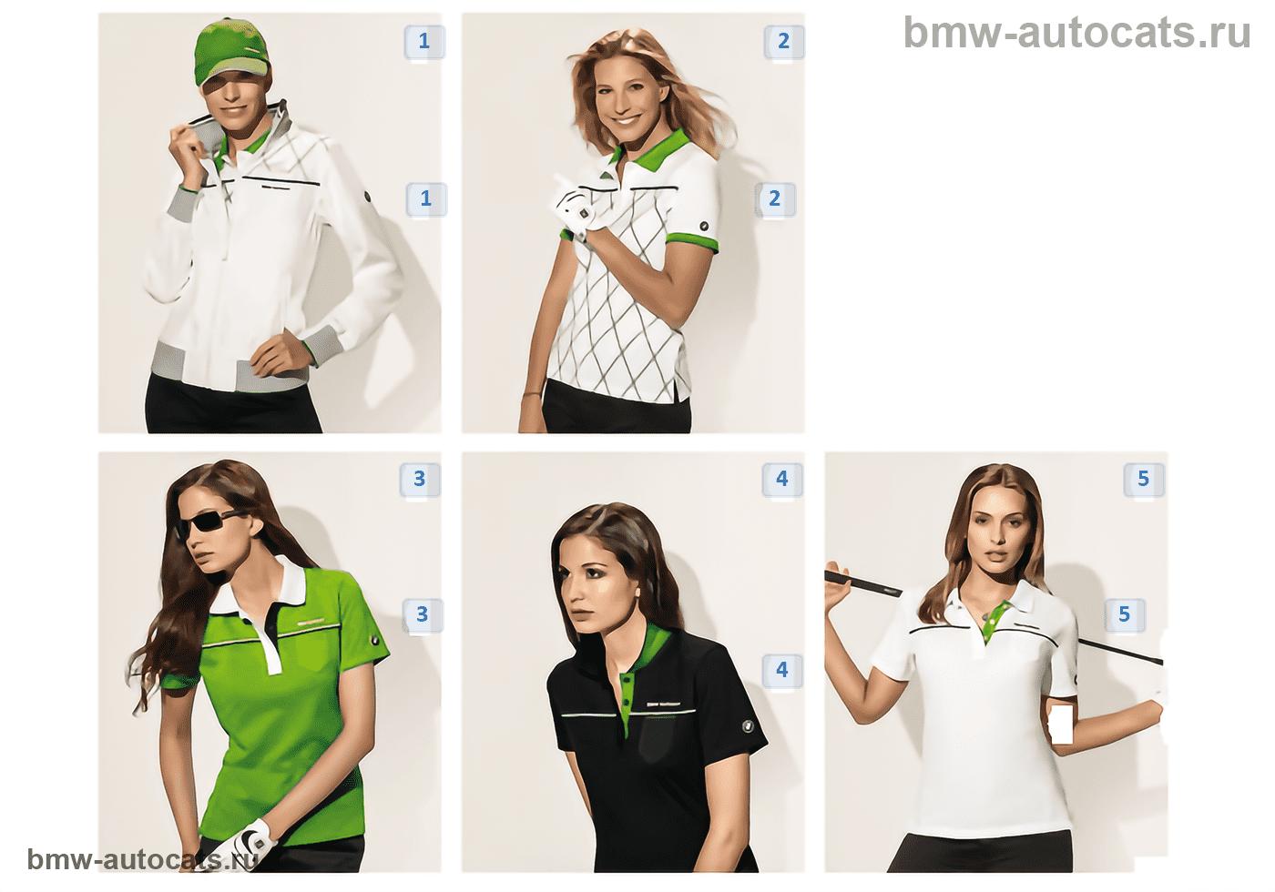Golfsport — Damentextilien 2010/11