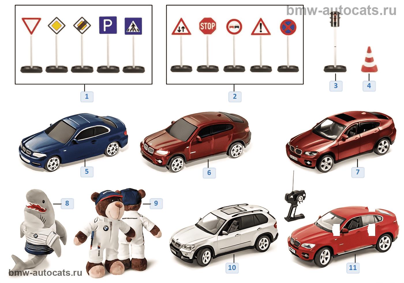 BMW Kinderprogramm — Spielzeuge 2011/12
