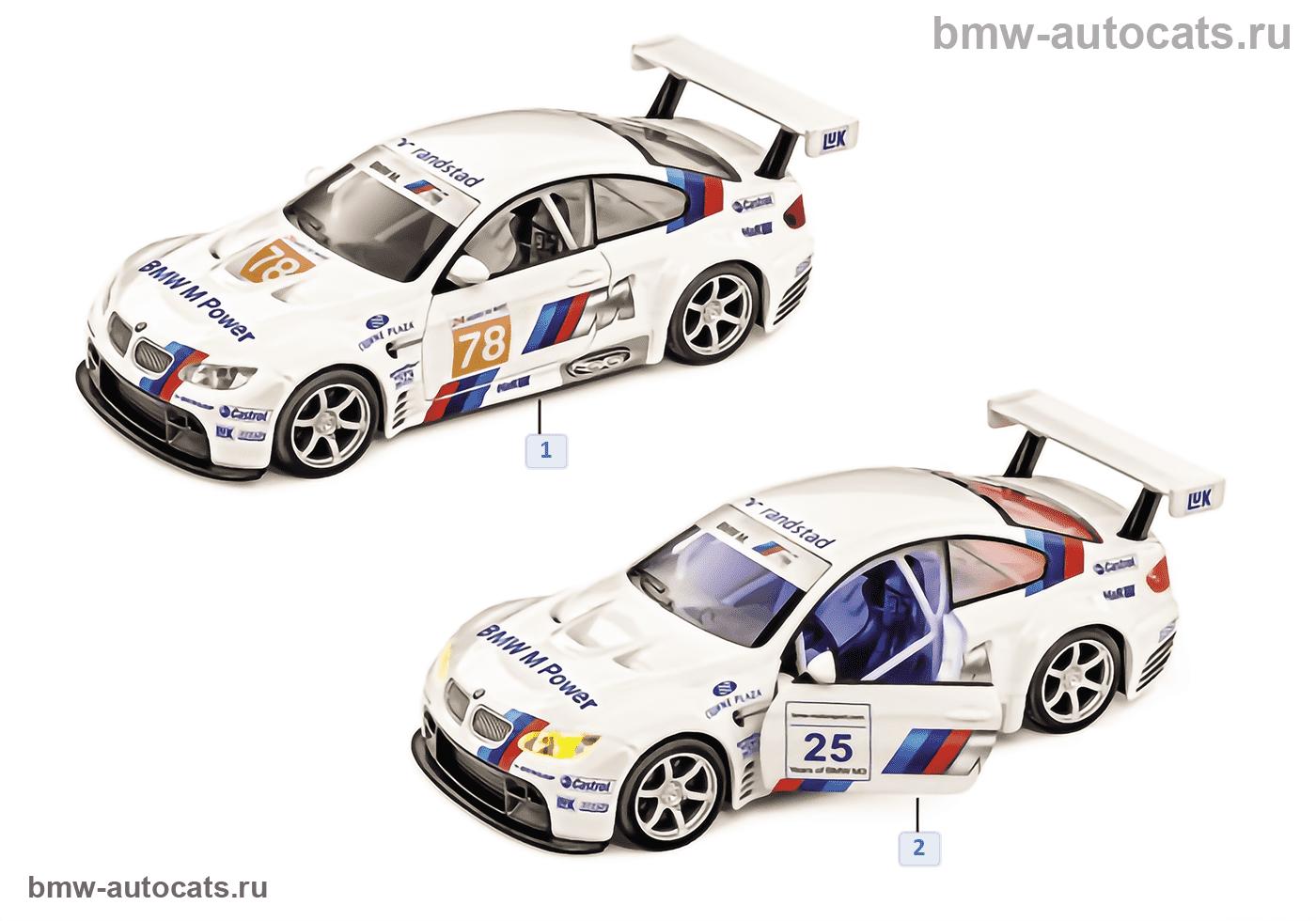 BMW Miniaturen — BMW 3er Reihe 2011/12