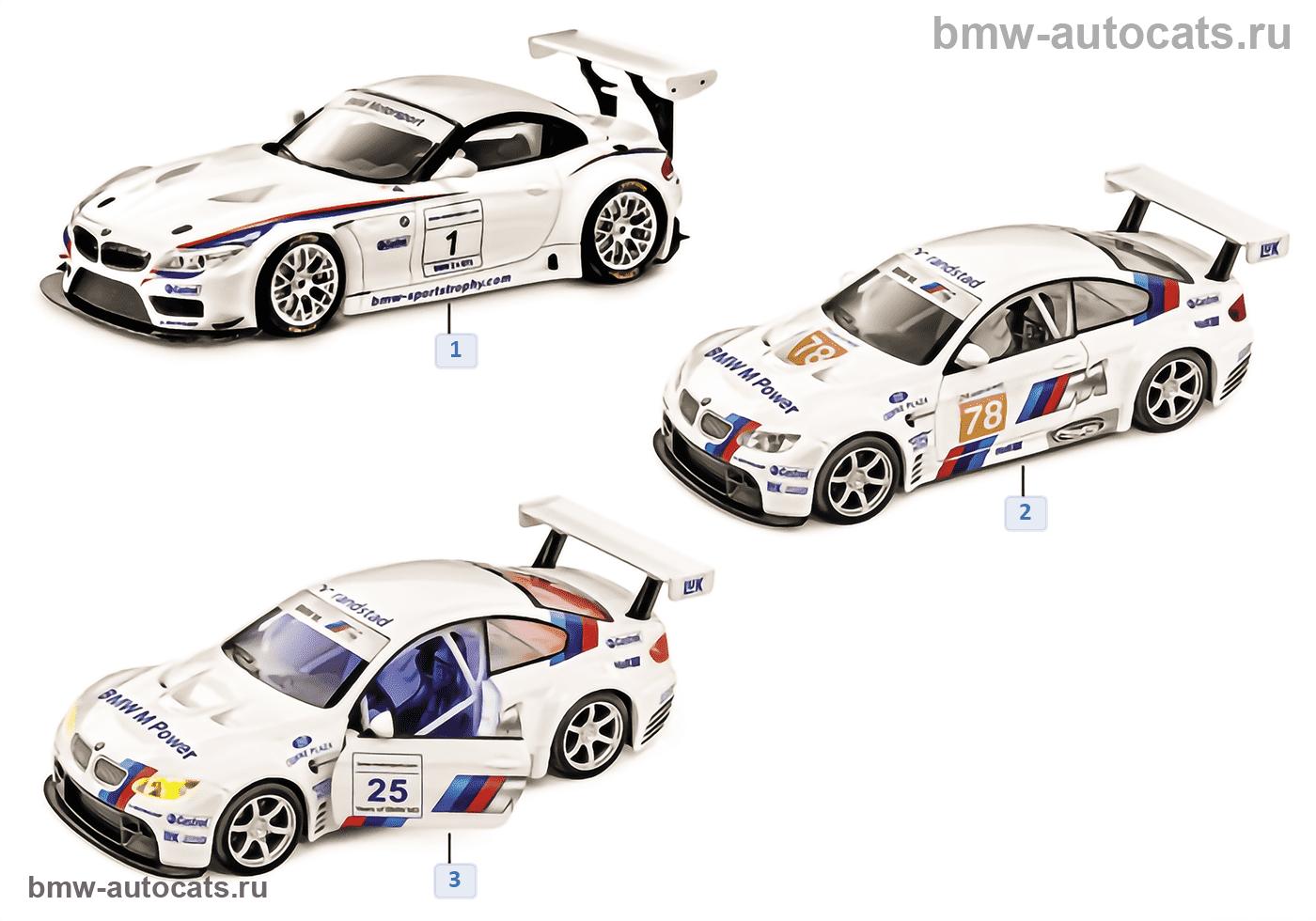 Миниат.модели BMW — Motorsport 2011/12