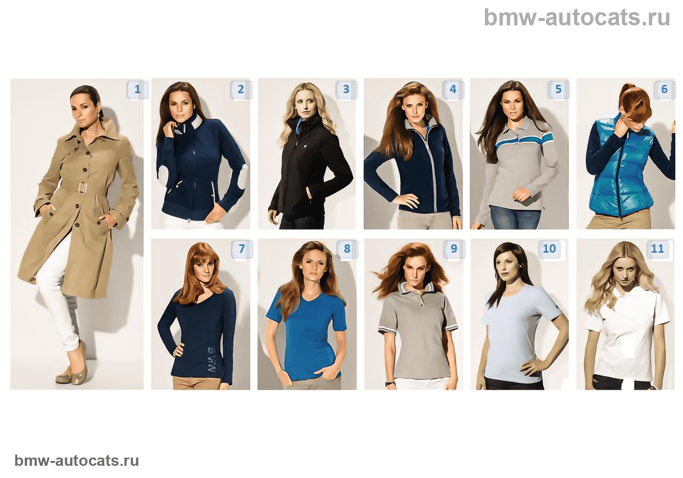 BMW Collection — женская одежда 2012/13