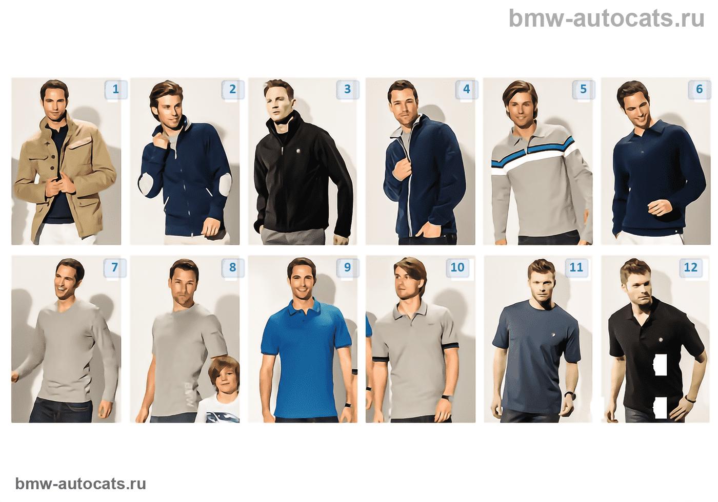 BMW Collection — мужская одежда 2012/13