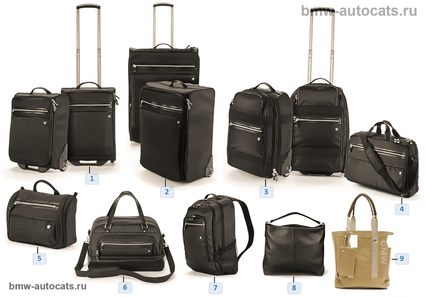 BMW Collection — сумки/чемоданы 2012/13