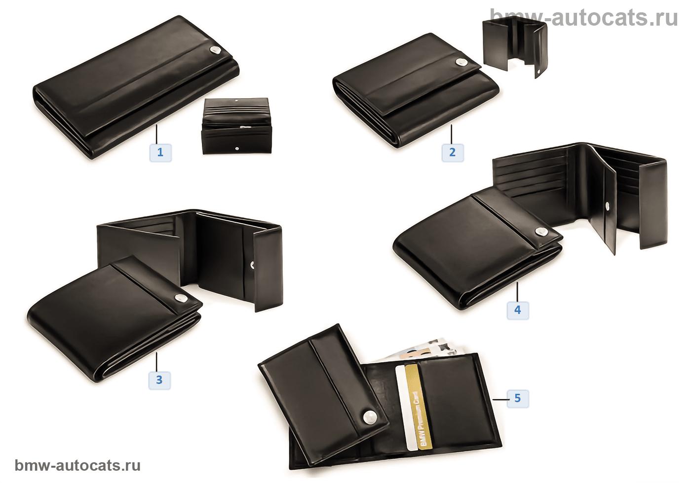 BMW Collection — бумажники 2012/13