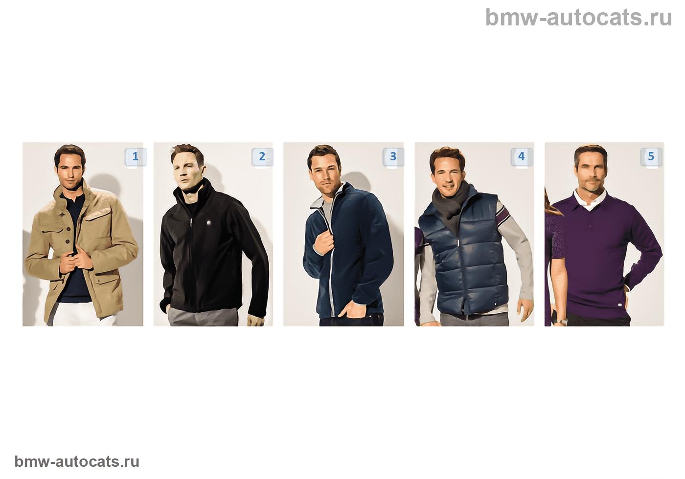 Мужск. куртки/пуловеры BMW Coll. 13/14