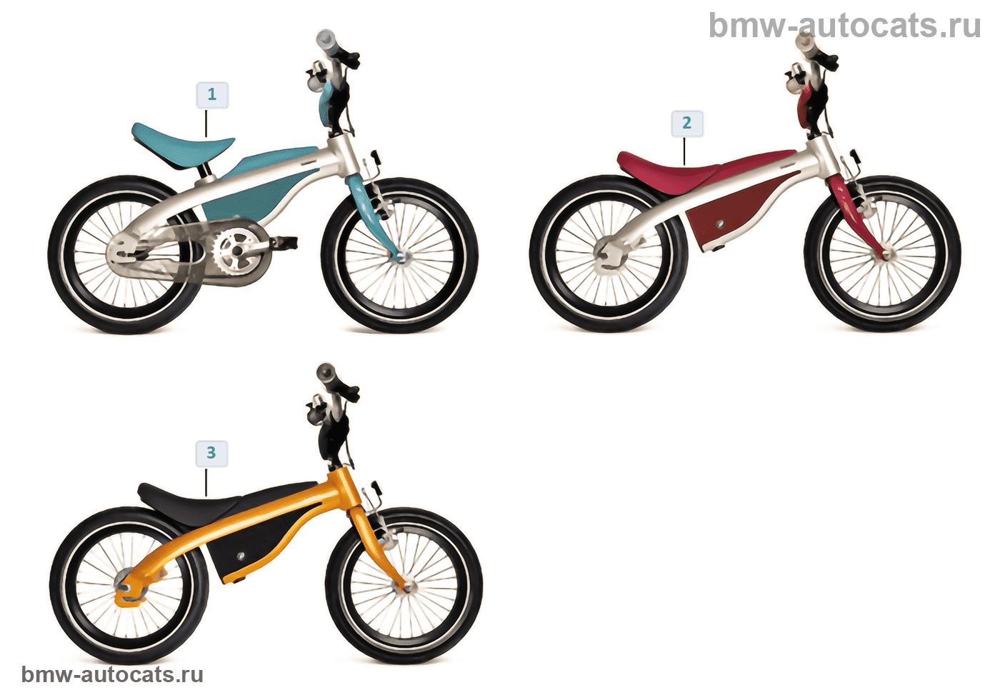 Детская прогр. BMW, Kids Bikes 13/14