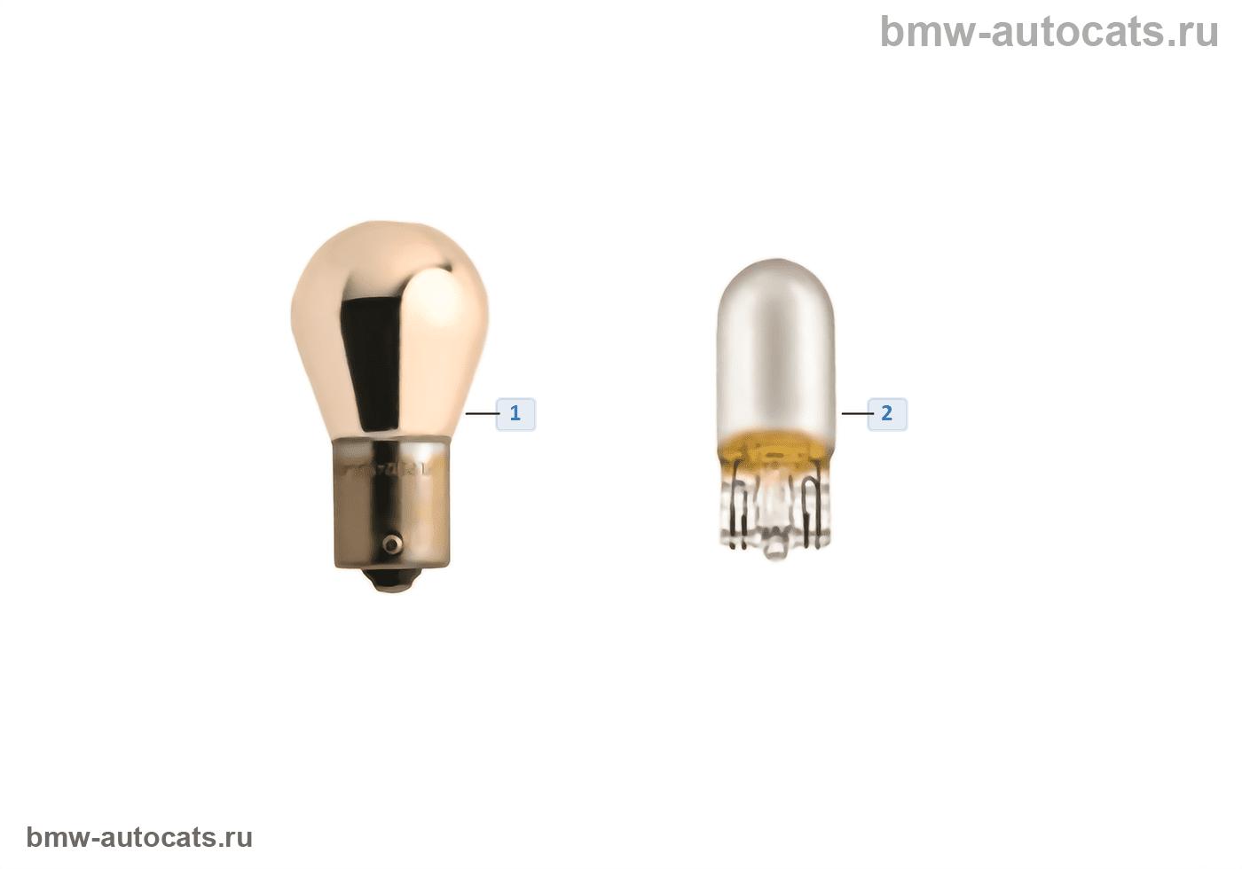 Хромированные лампы BMW