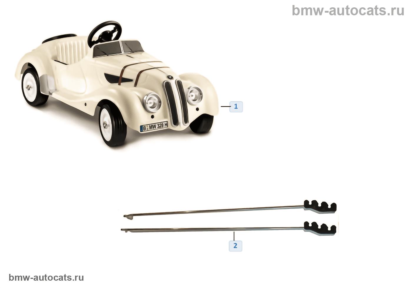 BMW Ersatzteile — 328 Roadster Tretauto