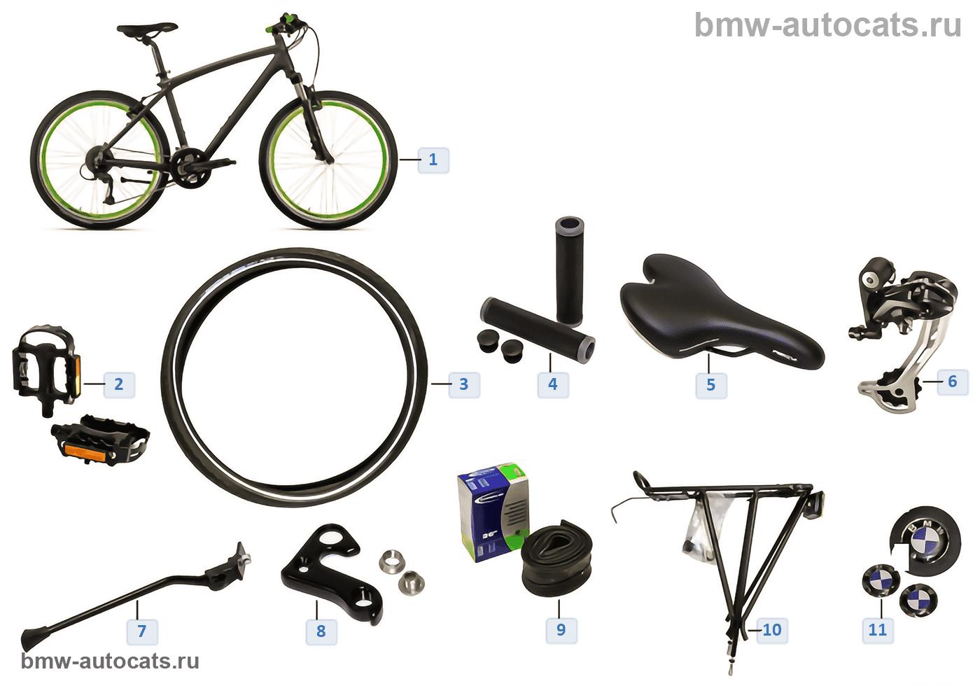 BMW Ersatzteile — Cruise Bike II