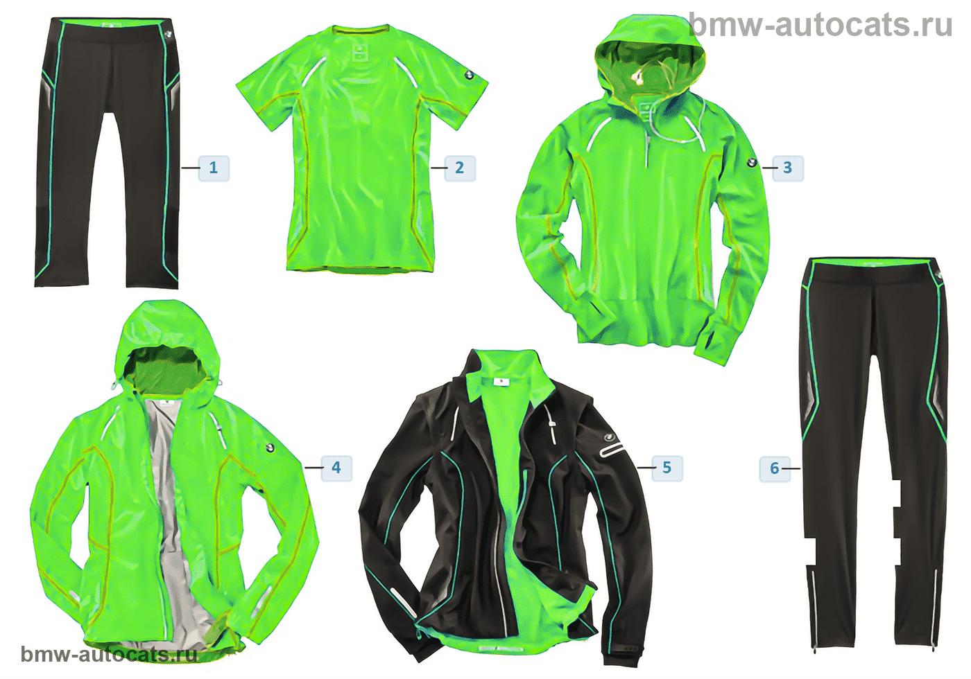 BMW Athletics — Женская одежда 2015/17