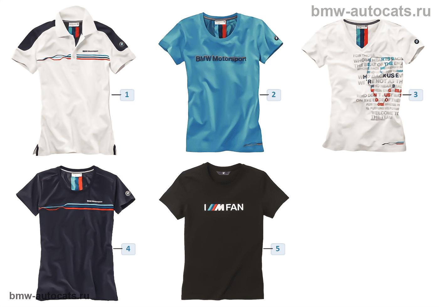 BMW Motorsport — Женск. рубашки 2015/17