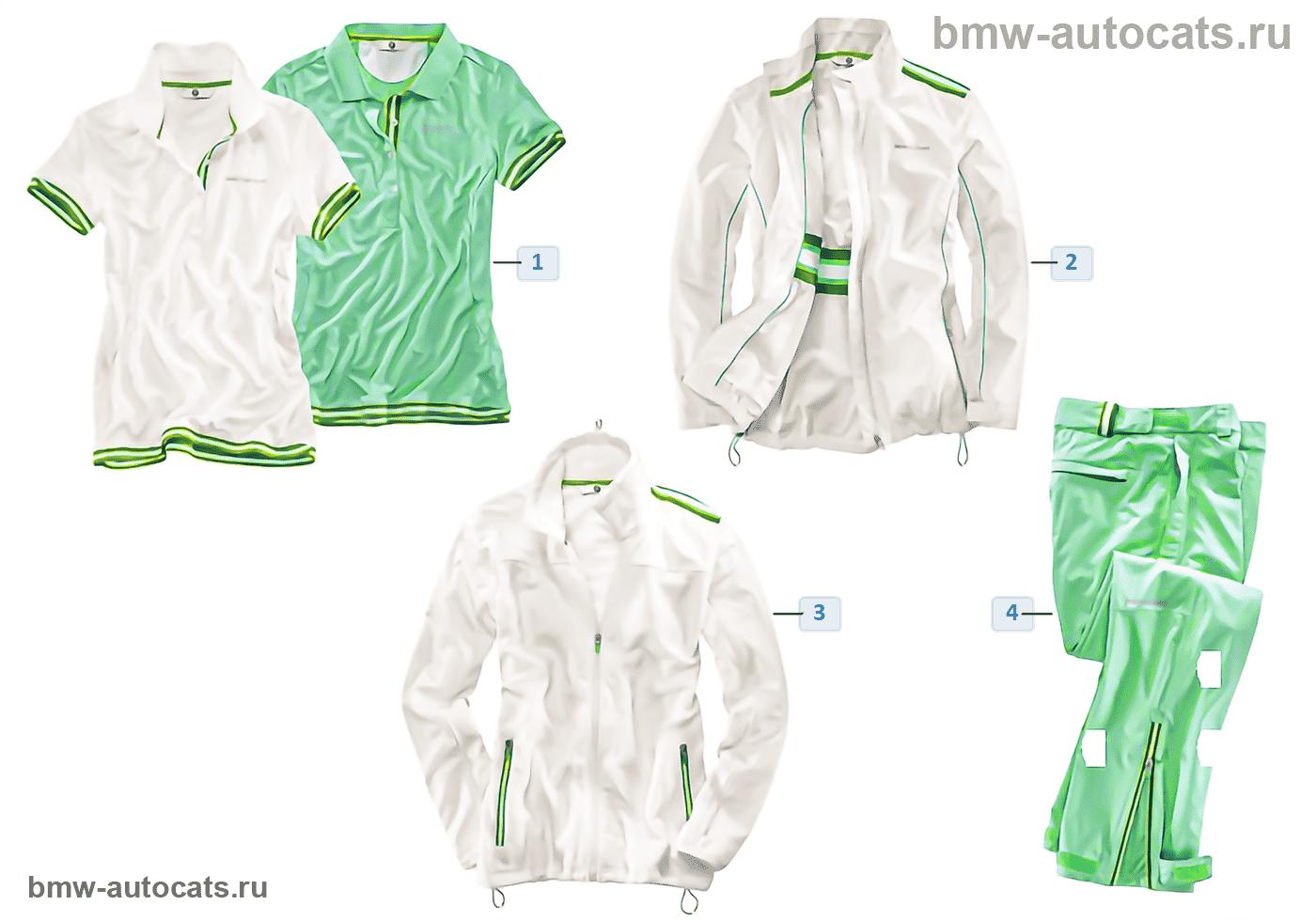 BMW Golfsport — Женская одежда 2015/17