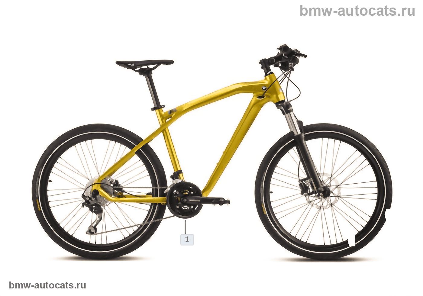 BMW Bikes — Cruise M-Bike Austin Yellow