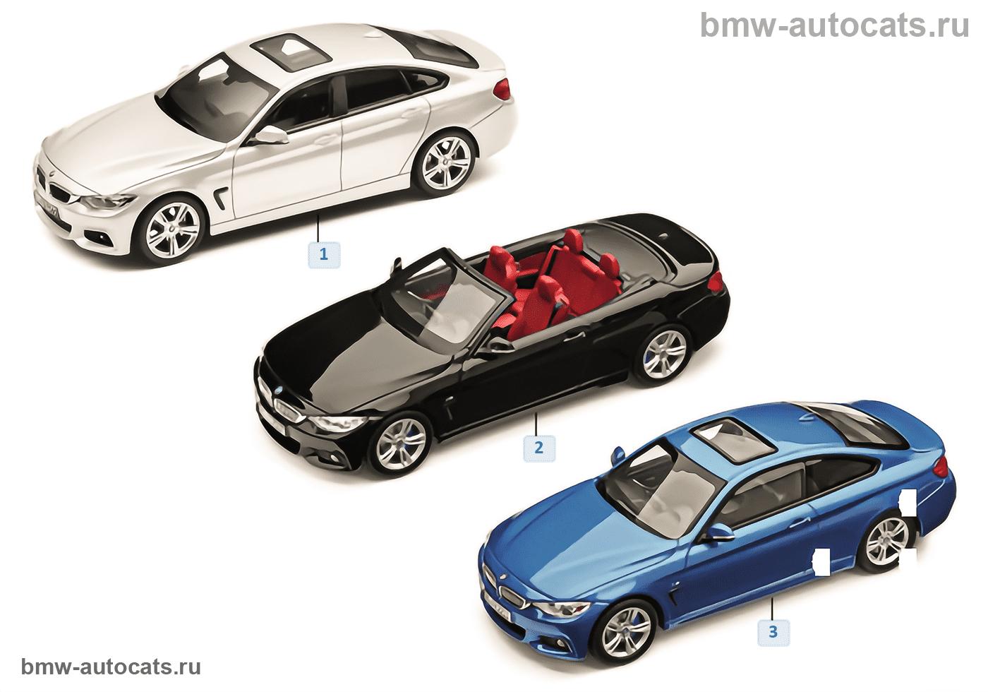 Миниат.модели BMW — BMW 4-й сер.14/16