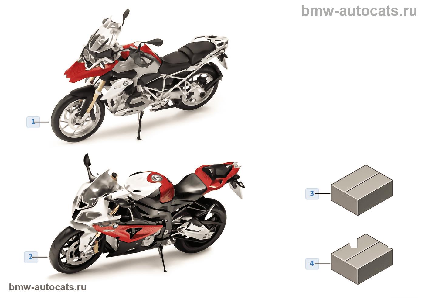 Миниат.модели BMW — BMW Motorrad 14/16