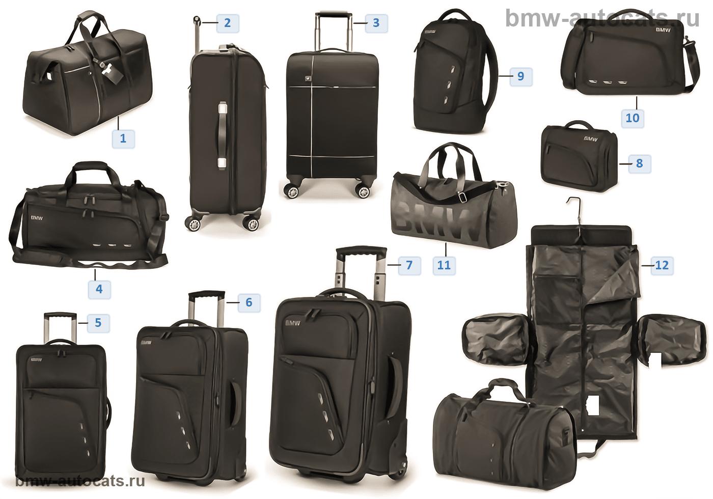 BMW Coll. — багаж 2014-16, 2016-18