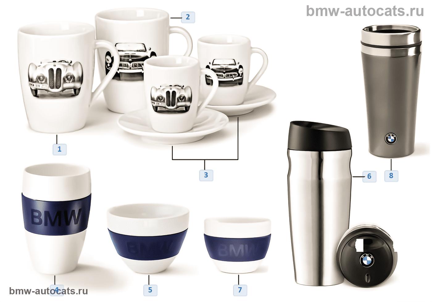 BMW Coll. — Чашки/кружки 14-16, 16-18