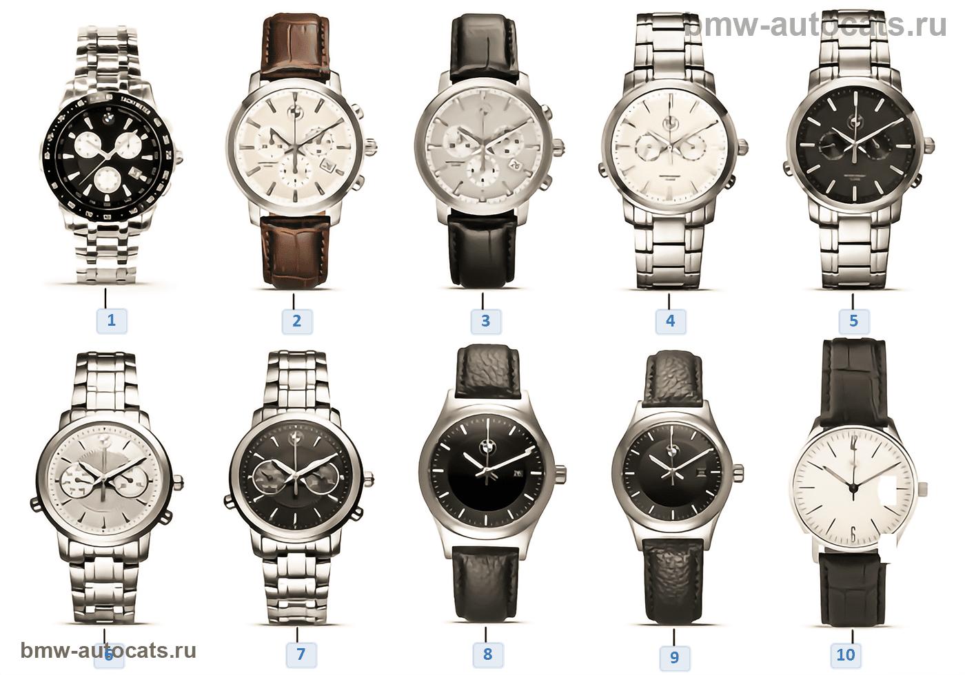 BMW Iconic Collection — часы