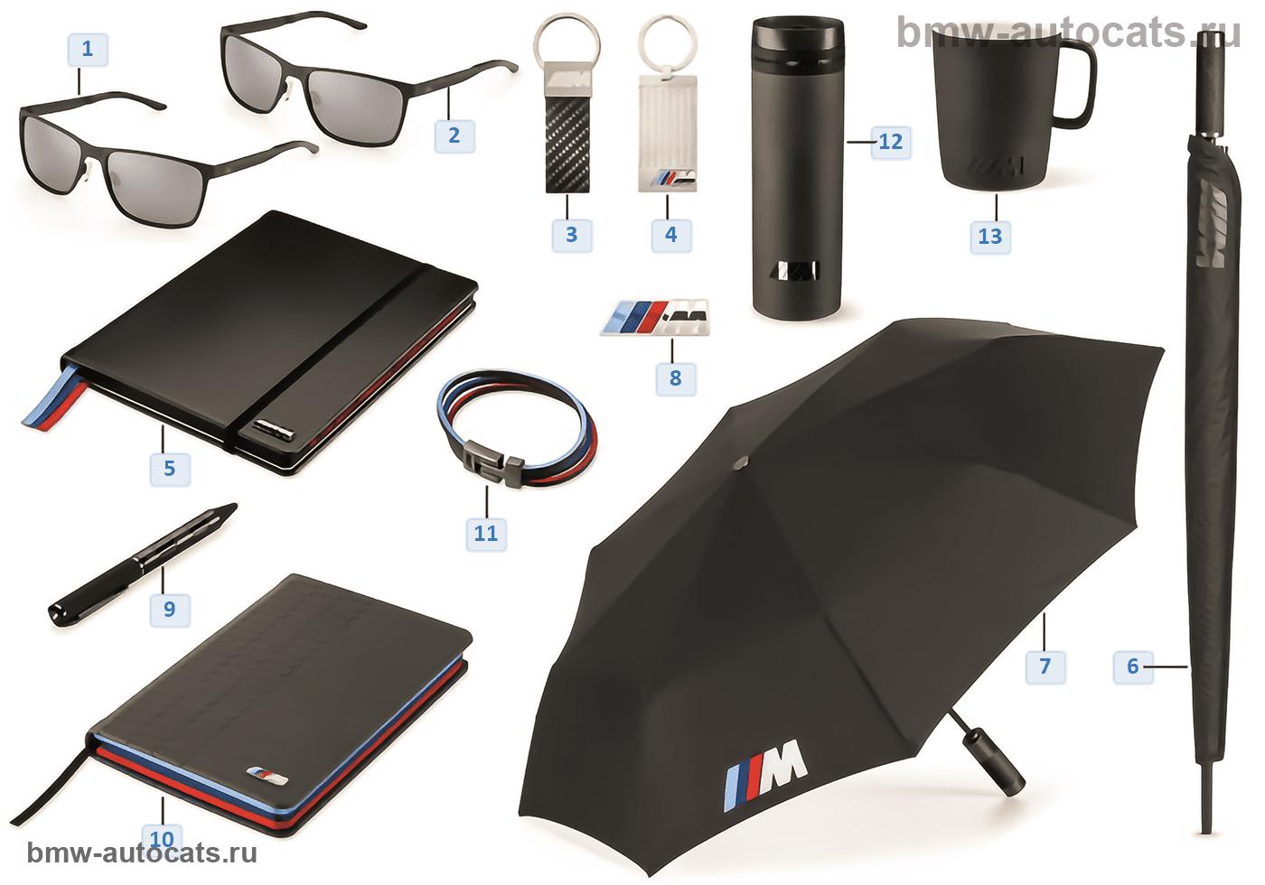 BMW M Collection — аксессуары 16-18