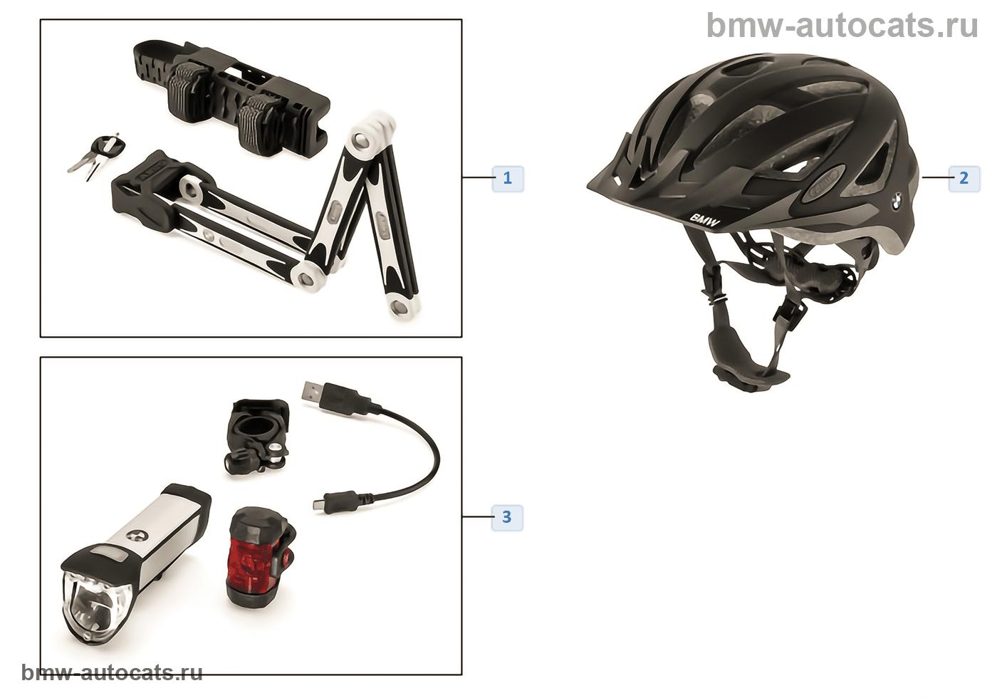 BMW Bikes & Equipment аксессуары 16-18