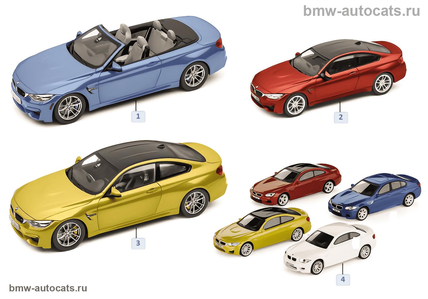 Миниат.модели BMW — BMW серии M4 14/16