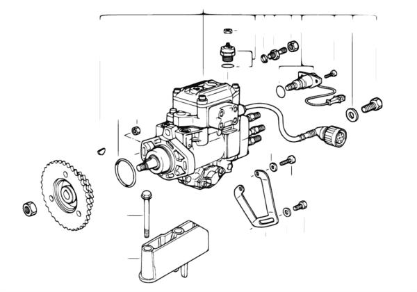 ТНВД дизельного двигателя