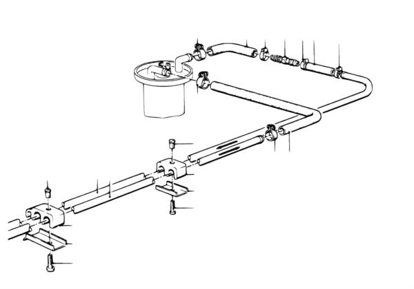 Система подачи топлива/трубопроводы
