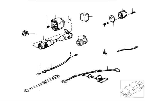 Провода тягово-сцепного устройства