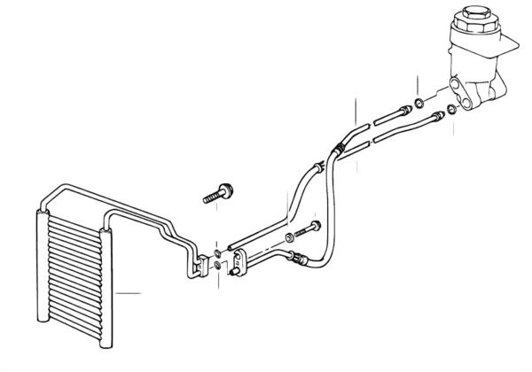 Охлаждение системы смазки двигателя