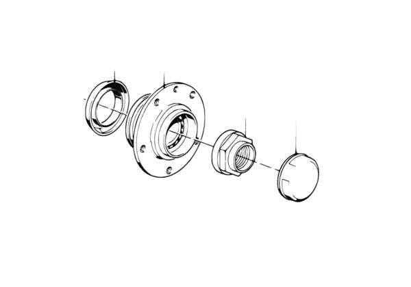 Подшипники ступицы колеса