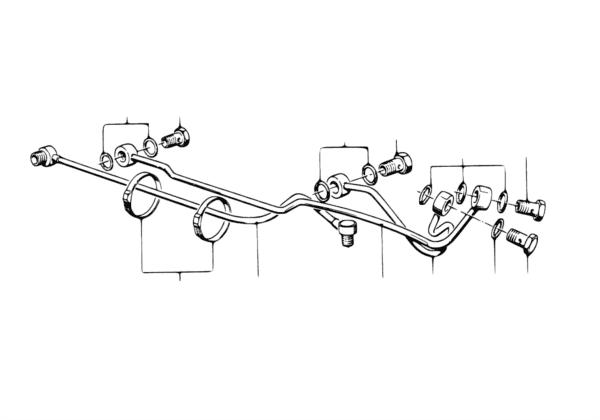 Трубопровод гидроусилителя рул.управл.