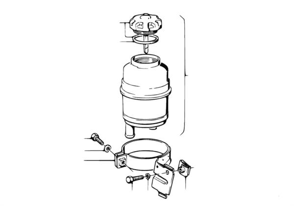 Масляный резервуар/детали