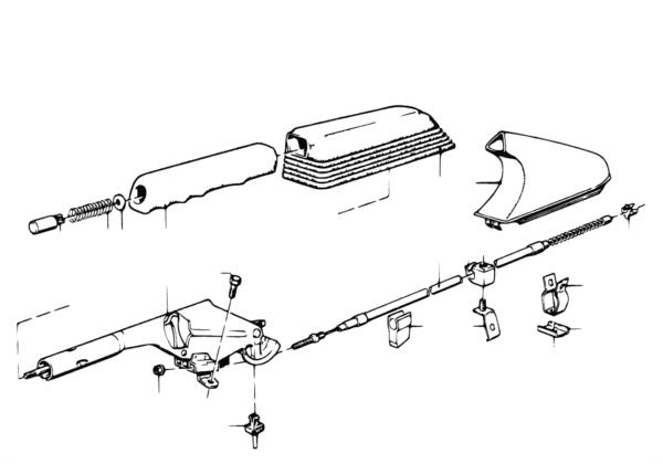Стояночный тормоз/управление