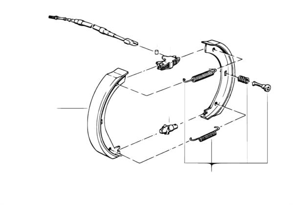 Стояночный тормоз/тормозные колодки