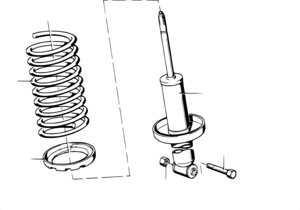 Амортизатор/витая пружина/дополн.элемен.