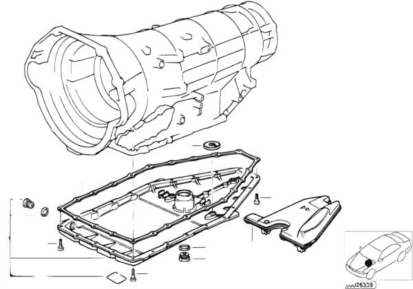 A5S560Z Масляный картер