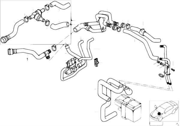 Шланги насос-клапан/ автом.сист.кондиц.
