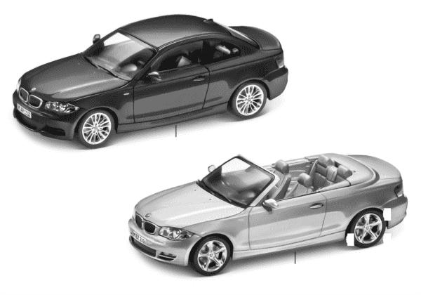 BMW Miniaturen - BMW 1er Serie 2010/11