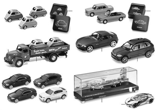 BMW Miniaturen — Sets 2010/11