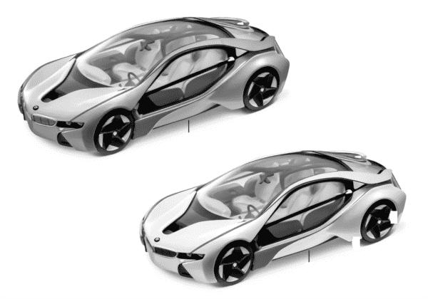 Миниат.мод.BMW-EfficientDynamics 2011/12