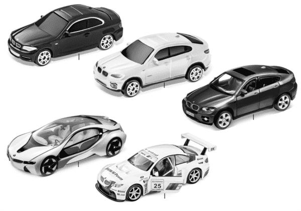 Миниат.модели BMW — набор 2011/12