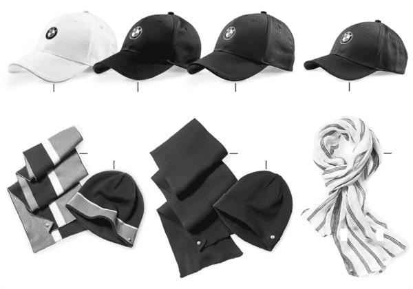 BMW Collection — шапки/шали 2012/13