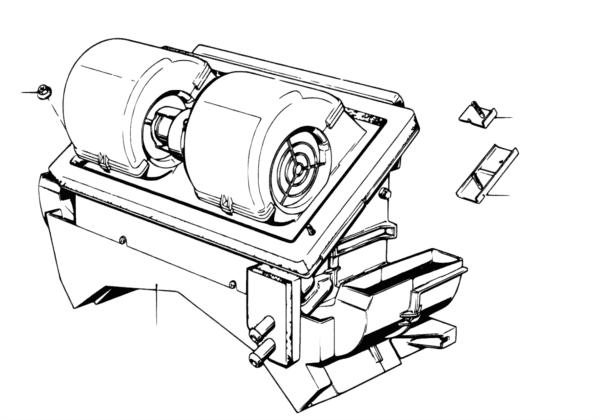 Блок отопителя/ кондиционера