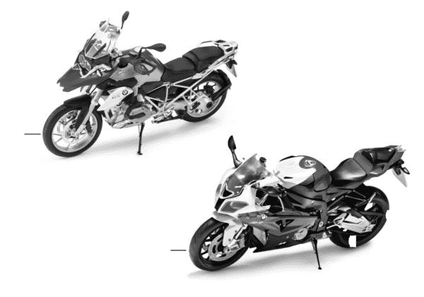 Миниат.модели BMW — BMW Motorrad 13/14