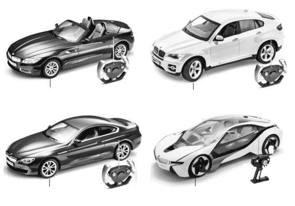 Миниат.модели BMW — с дистанц.упр.13/14